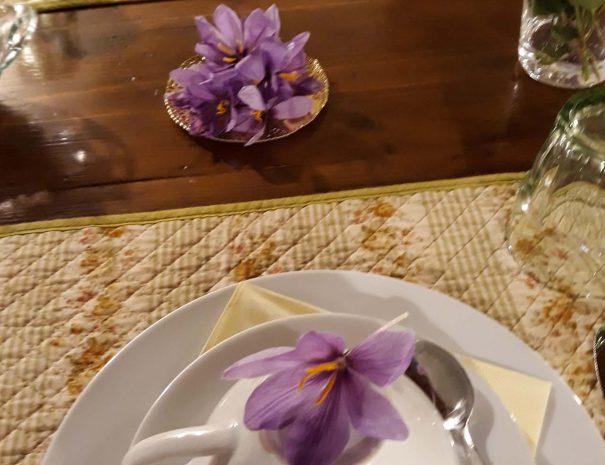 soggiorno colazione con fiori mia