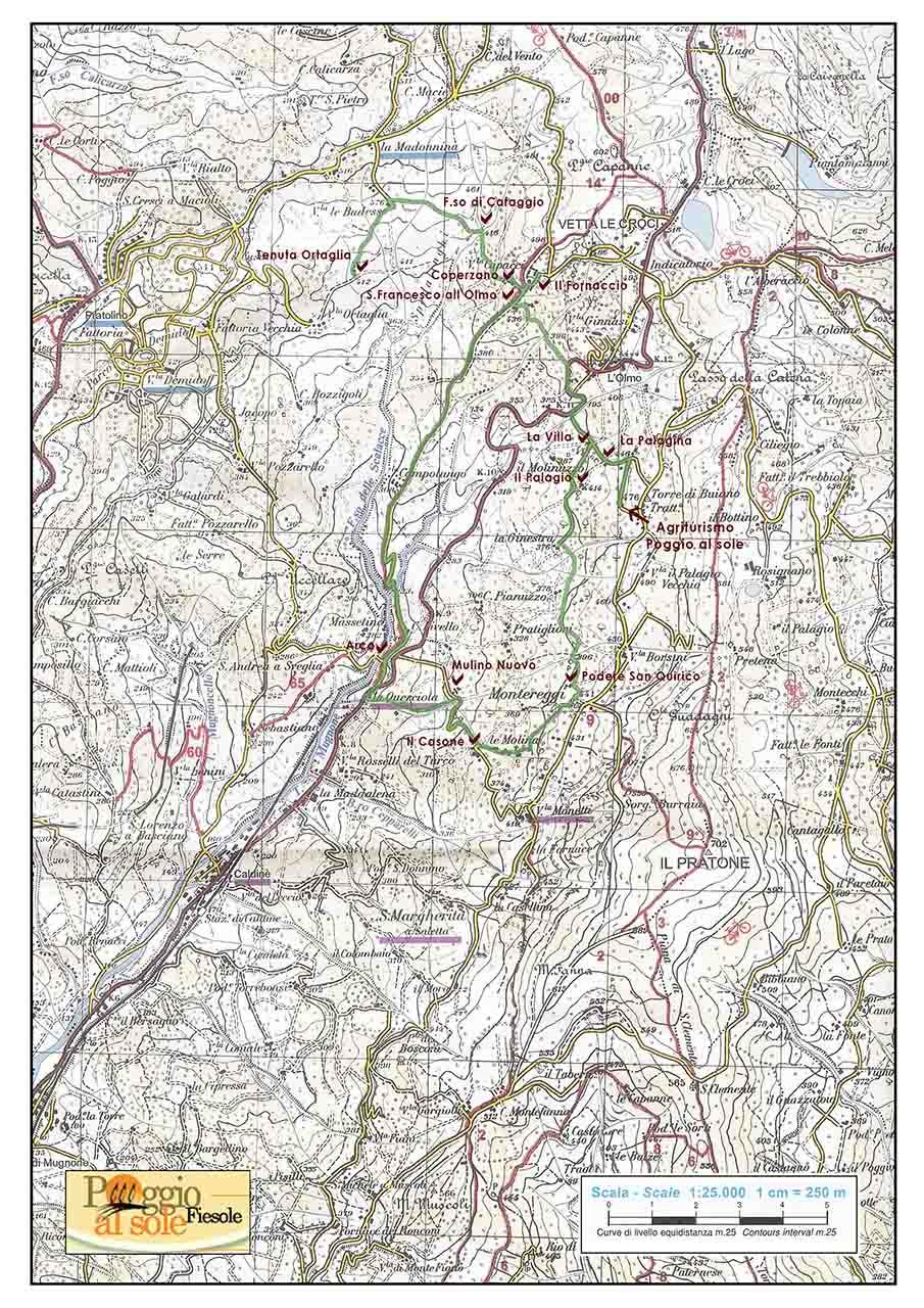 Ortaglia-mappa